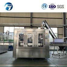 4000BPH Glass Bottle Carbonated Beverage Sparkling Water Isobaric Filling Machine