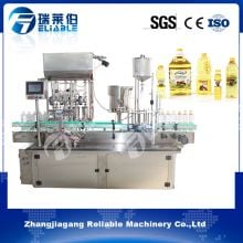 Automatic Edible Olive Oil Bottle Filling Capping Machine