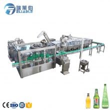 Glass Bottle Carbonated Beverage/ Wine Filling Machine Production Line Factory Manufacture Price with High Quality